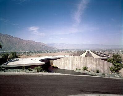 Leland Y. Lee, 'Elrod House - Lautner's Landscape', 1968