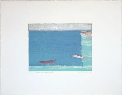 Kenjilo Nanao, 'Ripples in Turquoise VI', 2001