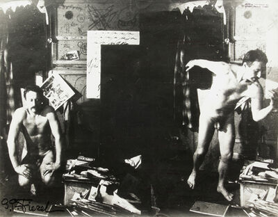 Gerard Petrus Fieret, 'Untitled (double self-portrait, nude)', 1960-1970