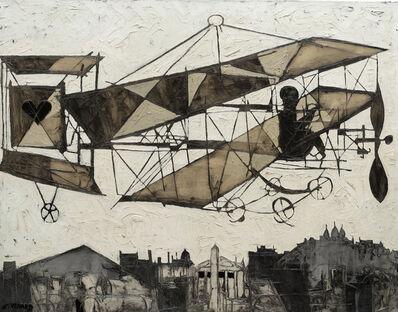 Claude Venard, 'Bi-plane with Heart ', 20th Century