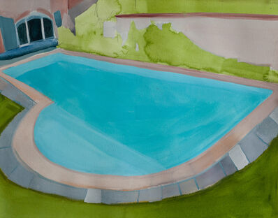 Melora Griffis, 'piscine de la famille anglaise', 2017