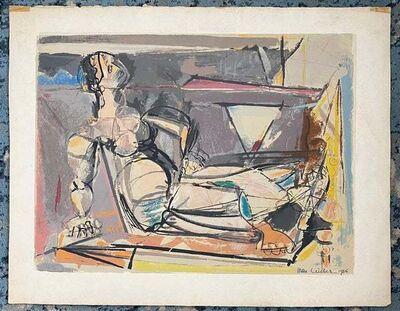 Max Weber, 'Reclining Figure', 1956