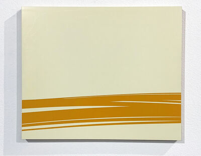 Volker Leonhardt, 'Futuristic Landscape (Orange)', 2002