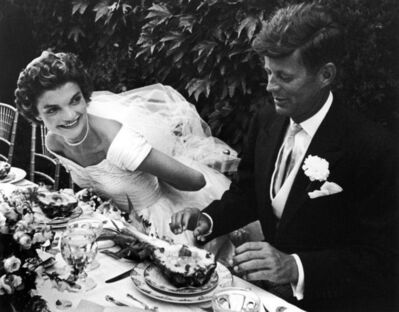 Lisa Larsen, 'John and Jacqueline Kennedy at Their Wedding Reception'