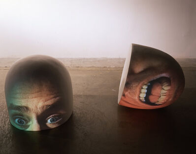 Tony Oursler, 'Half (Brain)', 1998