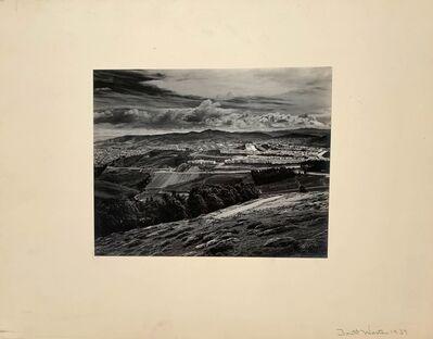 Brett Weston, 'Looking South from Twin Peaks', 1939