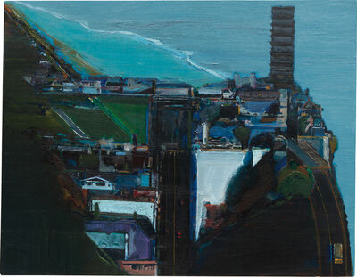 Wayne Thiebaud, 'San Francisco Shore', 1985