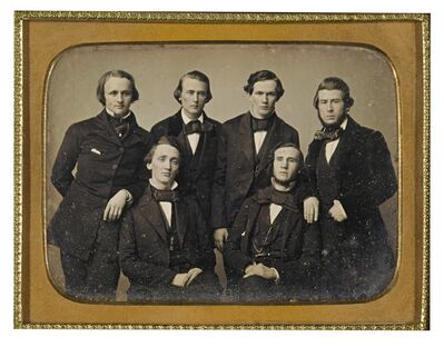 Anonymous American Photographers, 'Students of the Medical College of Virginia', circa 1850