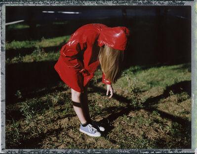 Cristina Fontsare, 'The hood is falling short - Contemporary, Polaroid, Photograph, Figurative, Childhood, 21st Century', 2017