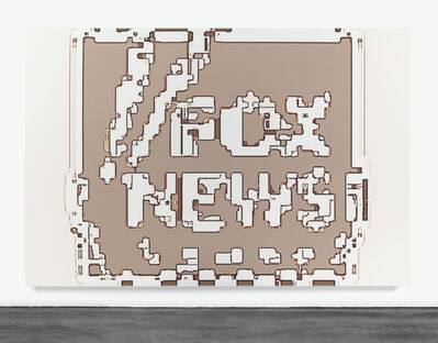 Mark Flood, 'Fox News HURT LOCKER', 2014
