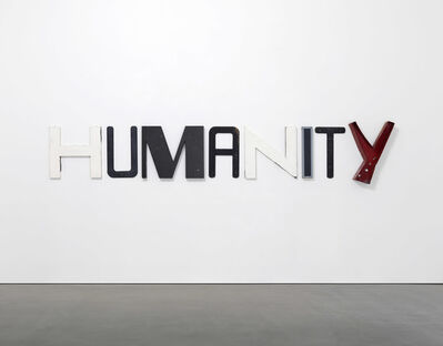 Jack Pierson, 'HUMANITY', 2017