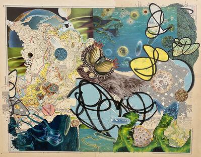Marlene Weisman, 'Optimystics, Blue Science', 2021