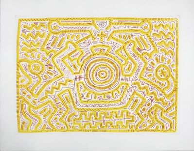 Keith Haring, 'Untitled (A)', 1985