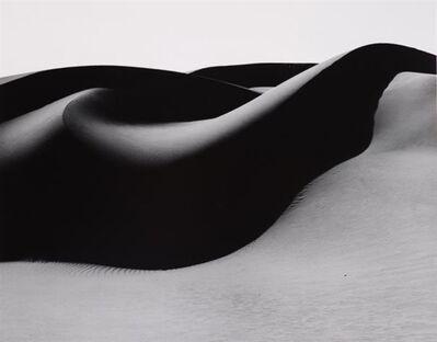 Brett Weston, 'Dune Oceano', 1984