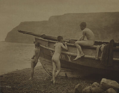 Frank Meadow Sutcliffe, 'Natives', 1895
