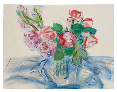 Raoul Dufy, 'Roses Rouges', 1941