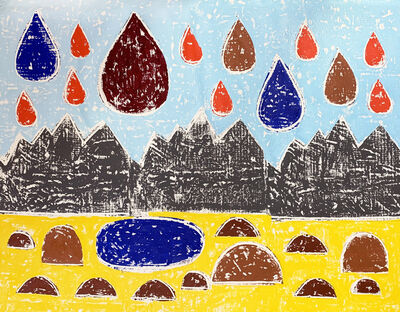 Olaf Breuning, 'Mountains', 2020