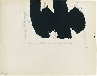 Robert Motherwell, 'Open with Elegy', 1968
