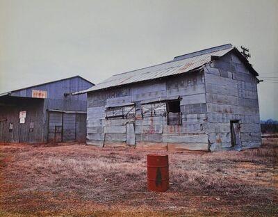 William Christenberry, 'Cotton Gin, Havana Junction, Alabama, 1981', 1978-1981