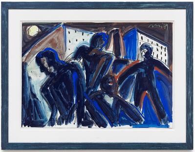 Helmut Middendorf, 'Ohne Titel (Nacht)', 1979