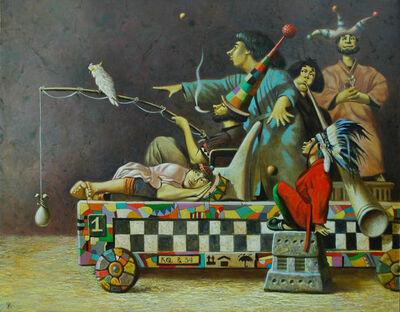 Dimitriy Zhdankin, 'Die Gastrolleure', 2018