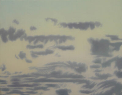 Helen Miranda Wilson, 'Cumulus Clouds, After Sunset', September-1997
