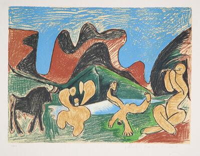 Pablo Picasso, 'Bacchanale', 1973-original 1922