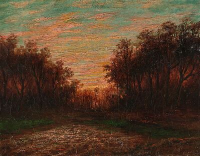 Ralph Albert Blakelock, 'Vibrant Landscape'
