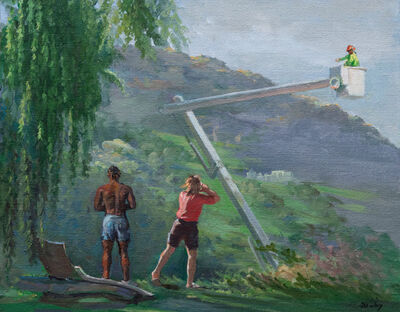 Jillian Denby, 'Lift With Two Viewers', 2020
