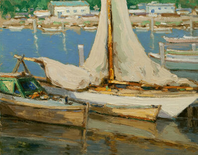 Walter Farndon, 'Lowered Sails', 19th -20th Century
