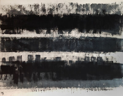 Marcello Pozzi, 'RIGONI NERIBLU | Los Angeles Acrylic Painting ', 2010