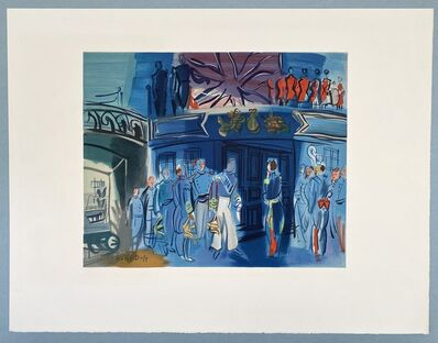Raoul Dufy, 'Reception d'in amiral Anglais sur un bateua Francais', 1969
