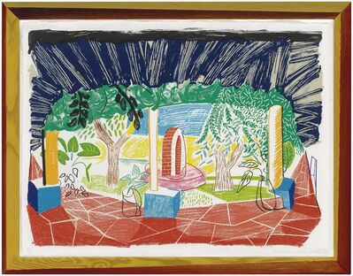 David Hockney, 'Views of Hotel Well I, from Moving Focus series', 1984-1985
