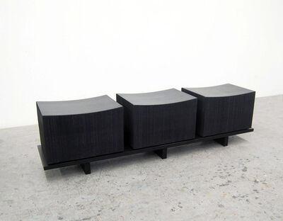 John Eric Byers, 'Loft Bench 3 Blocks'