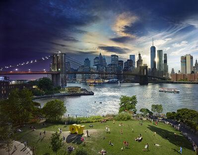 Stephen Wilkes, 'Brooklyn Bridge, Day to Night', 2016