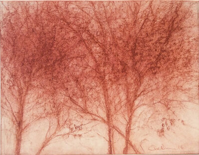 Sue Bryan, 'Red Trees 2', 2016