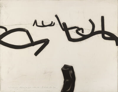 Bernar Venet, 'Combinaison aléatoire de lignes indeterminées ', 1993