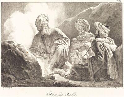 Alexandre-Evariste Fragonard, 'Repos des Arabes', ca. 1820
