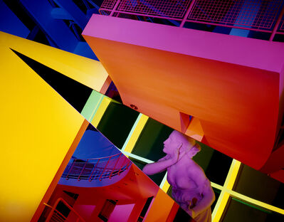 Barbara Kasten, 'Architectural Site 17, High Museum of Art, Atlanta, GA, August 29', 1988