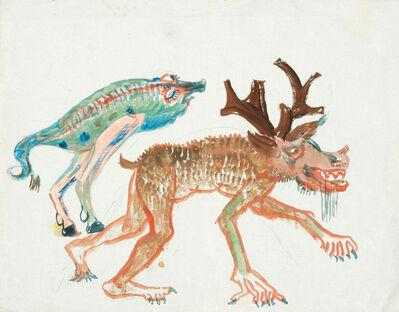 Oskar Laske, 'Fabulous Creatures', ca. 1945