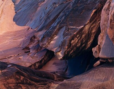 Eliot Porter, 'Cliff, Moonlight Creek, San Juan River, Utah', 1962-printed later