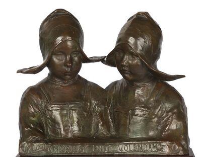 Arend Odé, 'Meisjes uit Volendam (Girls from Volendam)', ca. 1900