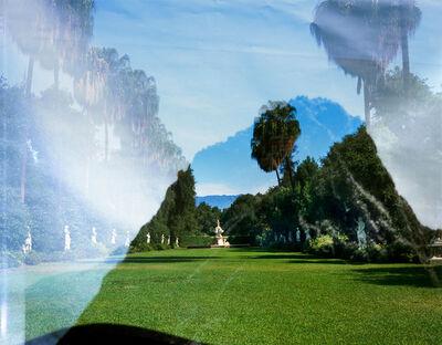 Connie Samaras, 'Huntington Shakespeare Garden, San Gabriel Mountains, and OEB 7252, Octavia Butler research photograph for Xenogenesis, Huayna, Picchu, Peru, July 1985', 2016