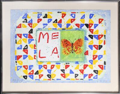 Joe Tilson, 'Conjunction, Fritallary, Mela', 1996