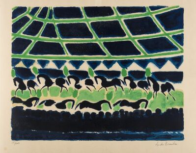 Andre Brasilier, 'Untitled'
