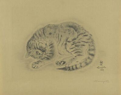 Léonard Tsugouharu Foujita, 'Les Chats', 1929
