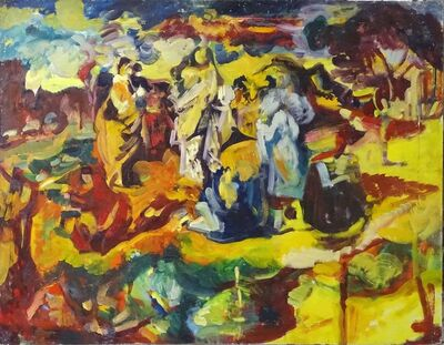Dennis Creffield, 'Transfiguration', 1956