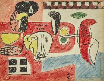 Le Corbusier, 'Étude pour Taureau XII', 1956