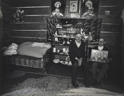 Zofia Rydet, 'From the Sociological Record cycle. Myth of Photography (Łapsze Wyżne)', 1979