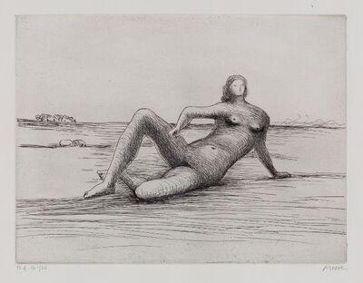 Henry Moore, 'Reclining Figure 4 [CGM 475]', 1978